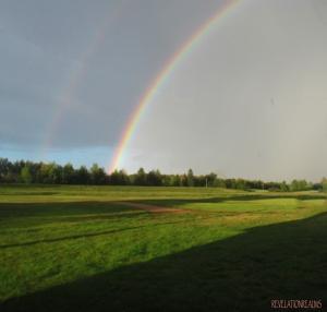 sun shine rainbow