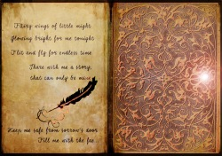 OldBook intro magic door revised