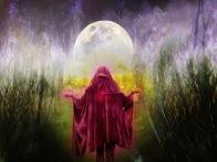 moon as feminine mystery